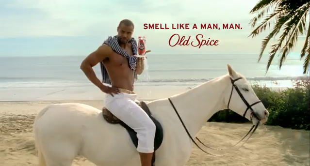 Old Spice Advert Wins Awards